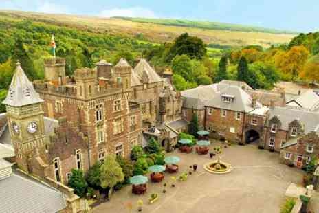 Craig Y Nos Castle - One Night stay for Two With Breakfast, Dinner, Wine and Castle Tour - Save 75%