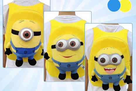 Online Gift Store - Minion Backpack in Choice of Colour and Design - Save 52%