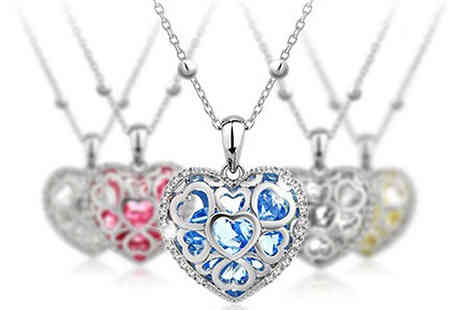 Cartres - Swarovski Elements Heart Necklace  - Save 80%