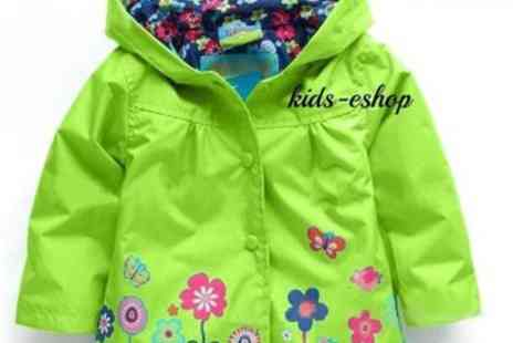 Londeal UK - Baby Girl Hooded Wind breaker for  18 to 24 Months - Save 36%