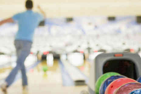 Strikeiom - Two games of bowling plus a free basket meal each - Save 50%