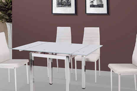 Panoply Furnishings - Five Piece Dining Set - Save 45%