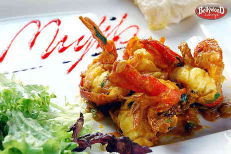 Bollywood Lounge - Bollywood Sizzling Cocktail to Share with a Main Course Each for Two - Save 55%