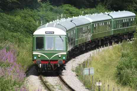 Dean Forest Railway Company - Unlimited Steam or Diesel Train Travel or Ales on The Rails - Save 30%
