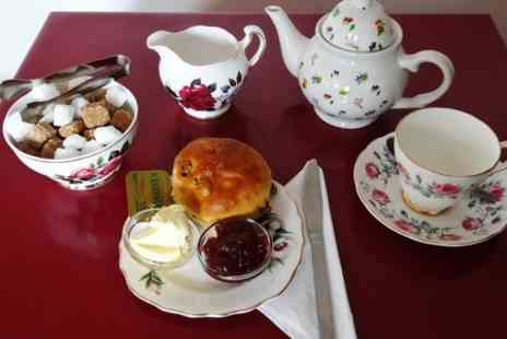 High Beeches Tea Room - Cream Tea For Two  - Save 50%