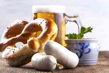 Octoberfest Pub - German Snack Selection With Beer Tasting Wheel  - Save 42%