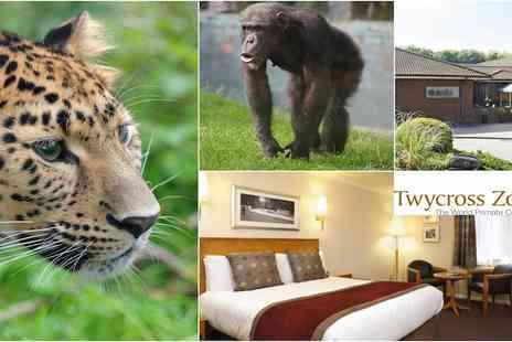 Thistle East Midlands Airport Hotel - Tickets to Twycross Zoo and One night  Stay - Save 45%