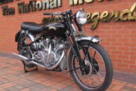 National Motorcycle Museum - Entry to the National Motorcycle Museum for Two - Save 50%