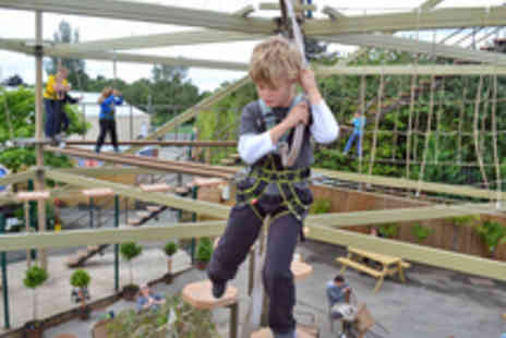 Planters Sky Trail Adventure - Sky Trail High Ropes Session for Two - Save 42%