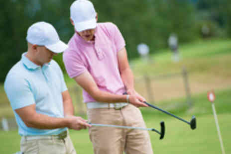 Your Golf Matters - Golf Tuition with a PGA Pro and a Golf Voucher or a Seven Iron to Take Home - Save 51%