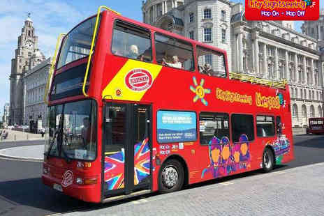 City Sightseeing - Liverpool Sightseeing Bus Tour and St Johns Beacon Tour - Save 50%