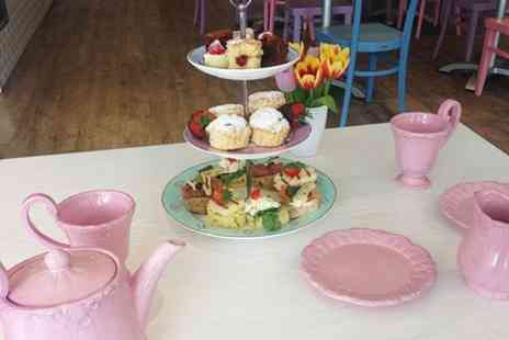 Peapod Cafe - Afternoon Tea For Two  - Save 51%