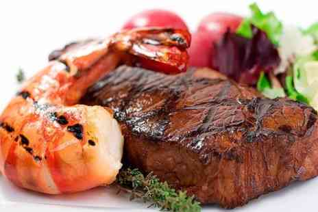 The Palm Tree Restaurant - Two Course Fillet Steak Meal With Champagne Cocktail - Save 65%
