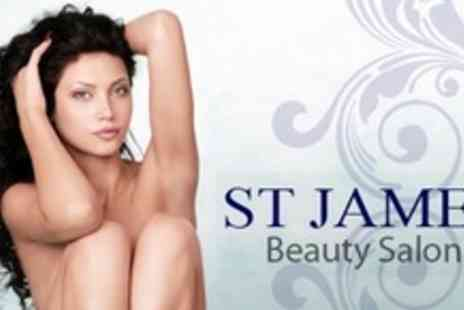 St James Beauty Salon - Five ND Yag and Alexandrite Laser Hair Removal Sessions For One Small - Save 81%