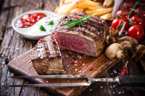London Road Tavern - Two course steak dinner for two - Save 56%