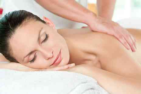 LH Hair & Beauty - Pamper package including a calming back massage, Indian head massage, mini mani and pedi  - Save 78%