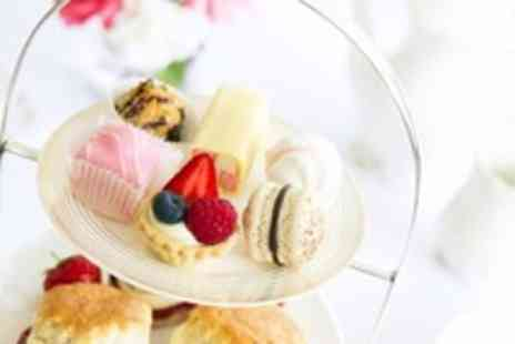 Joannes Florist - Afternoon tea with scones fresh sandwiches & fruit for Two - Save 38%