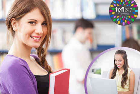 TEFL247 - Accredited 140 Hour Online TEFL Course  - Save 80%