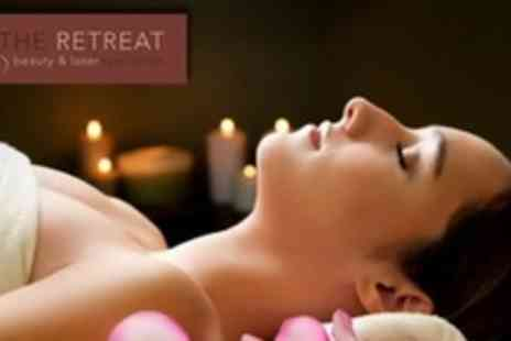 The Retreat Beauty - 50 Minute Guinot Facial Plus Back Massage and Choice of Manicure or Pedicure - Save 69%