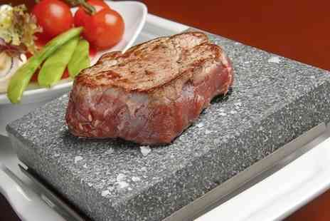 The White Horse - 12oz Sirloin On The Stone With Wine For Two  - Save 51%