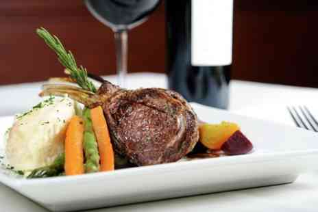 Best Feast - Steak Meal With Wine and Coffee For Two - Save 50%