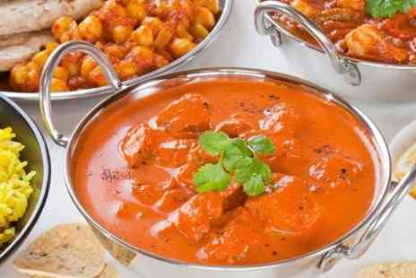 Cinnamon Tandoori Restaurant - Two Course Indian Meal For Two  - Save 48%