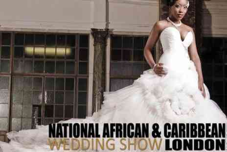 National African & Caribbean Wedding Show - Entry to Wedding Show - Save 40%