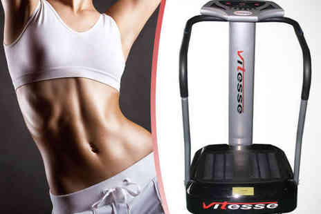 Good Vibrations - Vitesse Power Vibration Plate Including Delivery - Save 50%