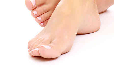 The Harley Laser Specialists - Two laser fungal nail treatments on one foot - Save 78%