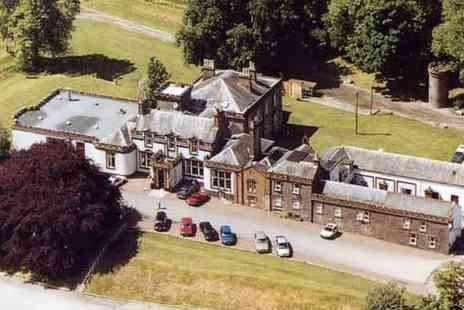 The Urr Valley Country House Hotel - One Night Stay  with Breakfast - Save 49%
