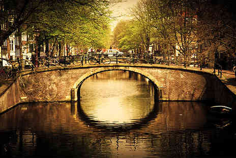 Jetline Holidays - Visit famous Amsterdam and explore all this iconic city for two including flights - Save 50%