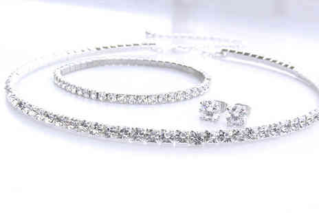 Lily Nicole - Classic Tri Set Made With Swarovski Elements - Save 50%