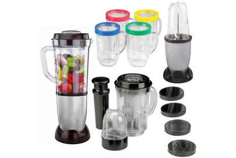 toolcollectionuk direkt2publik - 17pc Multi Purpose Blender Food Processor - Save 58%