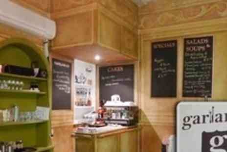 Garlands Eatery and Coffee House - Breakfast For Two With Hot Drink - Save 59%
