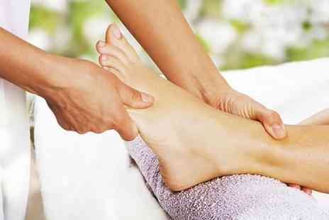 Angel Sourced Holistics - One hour reflexology treatment inc. chakra balancing, foot scrub and foot moisturise - Save 60%