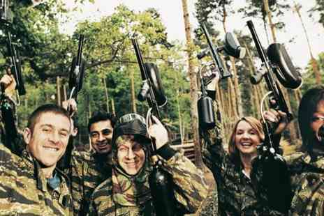 Southcoast Paintball - Full or Half Day Paintballing for Up to Ten - Save 50%