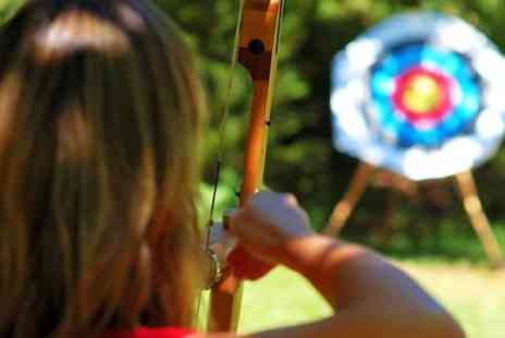 Mad Renaline Activities - One Hour Skybow Archery Experience For One - Save 63%