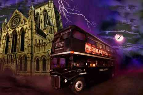 The Ghost Bus Tours - York Ghost Bus Tour With Guidebook  - Save 47%