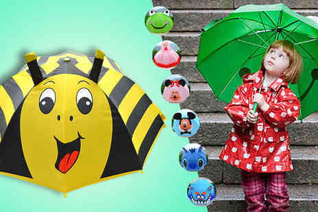 Online Gift Store -  Childrens 3D Cartoon Umbrella  - Save 50%
