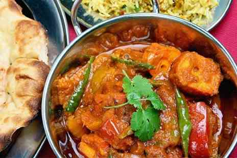 Bengal Bite - Two Course Indian Meal With Sides For Two - Save 57%