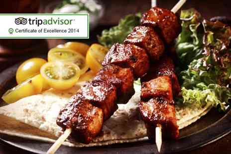 Taste of Cyprus - £35 voucher for Two to spend on food and drink  - Save 57%