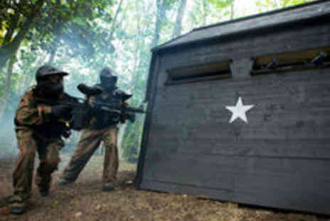 Allied Paintball - Paintballing for Five or More Players Including 50 Paintballs Each - Save 87%