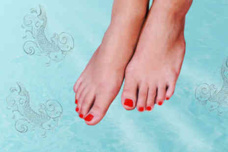 Flitz Hair and Beauty - £7.50 for a 30-minute Garra Rufa fish pedicure - Save 70%