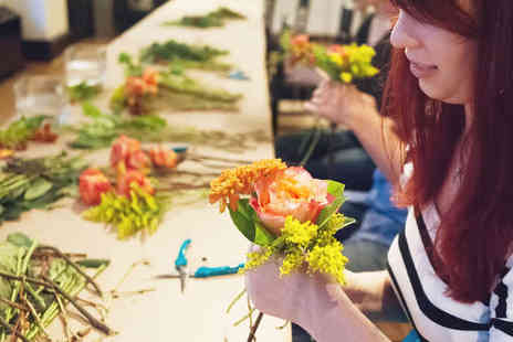 The Dandelion Clock - Flower Arranging Workshop for One  - Save 51%