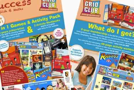 Grid Club - Games and Activity Pack Plus Two Year Grid Club Online Subscription  - Save 29%