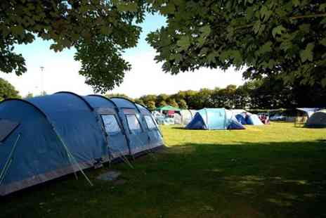 South Cliff Caravan Park - Two  Night stay Tent or Touring Pitch Hire For Up To Five - Save 71%