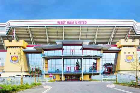 West Ham United Hotel - One Night Stay For Two With Breakfast and Supporter Scarves - Save 39%