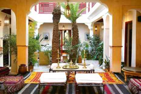 Riad Aladdin - One Night Stay For Two With Breakfast, Hammam and Body Scrub - Save 50%