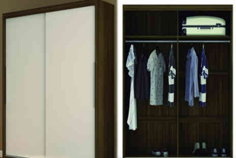 Panoply Furnishings - Stylish Sliding Wardrobe in Five Colours - Save 23%