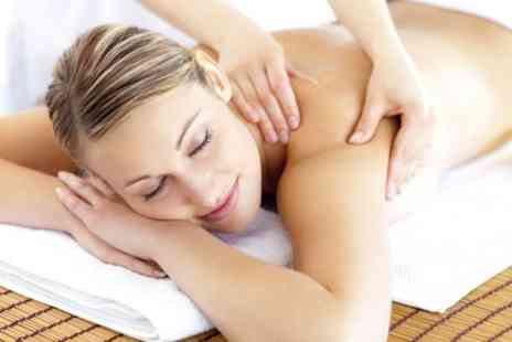 Just Relax Therapies - Aromatherapy back massage or holistic facial, plus a gel manicure - Save 76%